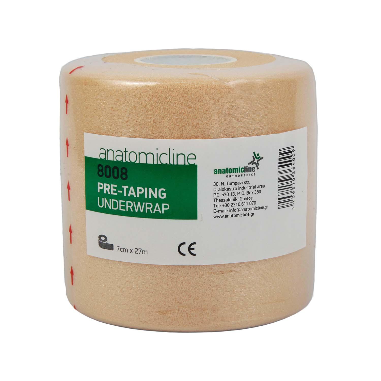 Pre-taping Underwrap