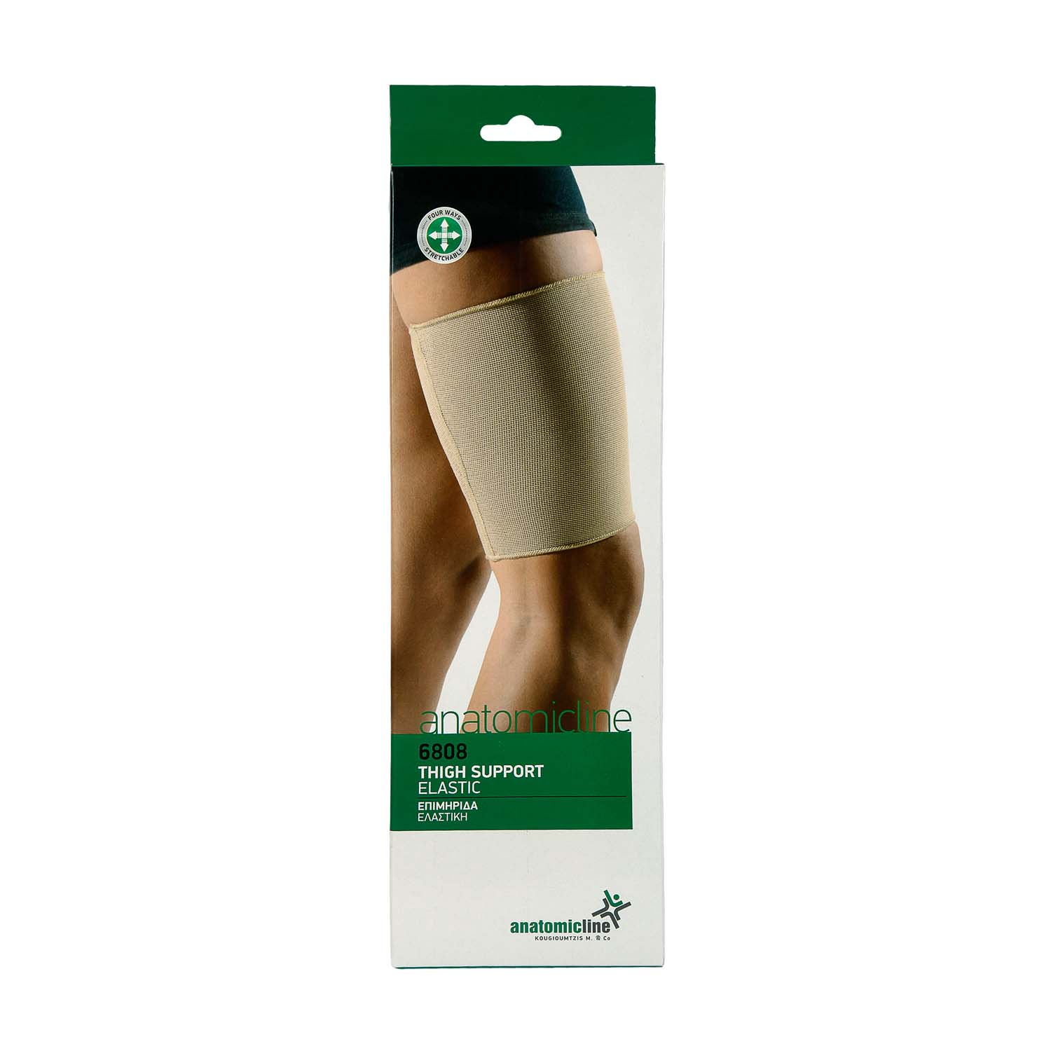 Thigh support - elastic