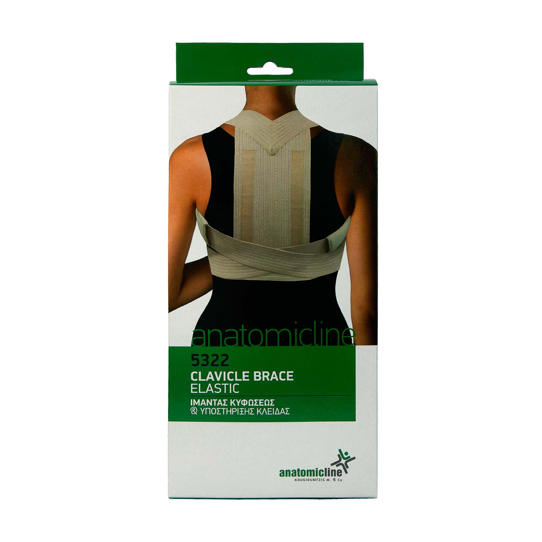 Clavicle brace - elastic